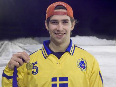 Simon Blomkvist VM-guld