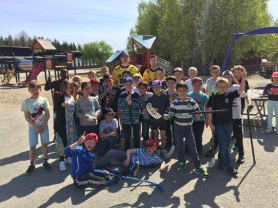 Broberg på Bergviksskolan genom samarbete med Faxeholmen