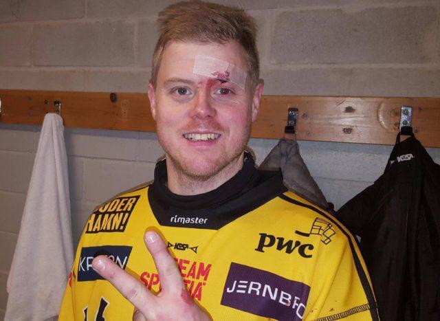Nygren efter segern mot Broberg-SAIK 2016